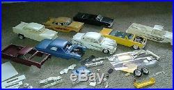 Vintage Model Car and truck Junkyard Parts Lot AMT RARE