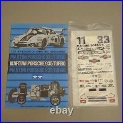 Vintage NIB Tamiya Porsche 935 Item 58002