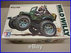 Vintage NIB Tamiya Wild WIlly M38 Item 58035