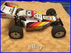 Vintage Optima Mid 4 WD off road racer 110 Scale Used