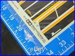 Vintage Original New Tamiya Clod UNCUT ClodBuster Decal Sticker Complete Sheet