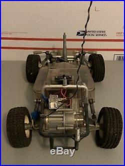 Vintage Original Tamiya Sand Scorcher Rough Rider Rc Car For Parts / Repair