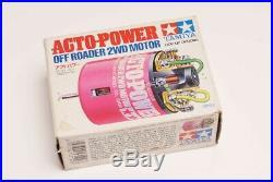 Vintage RC Motor Tamiya Acto Power Off road 2WD motor 53122 (VERY RARE) NIB