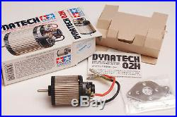 Vintage RC Motor Tamiya Dynatech 02H 53044 (Very Rare) NIB