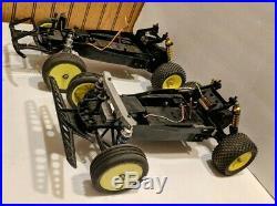 Vintage RC Tamiya Hornet frog Grasshopper Lot of Five Duratrax B2 Rims Proline