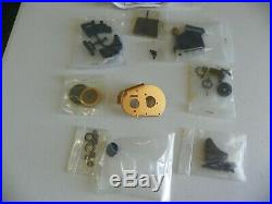 Vintage RC10 / 10T NIB Stealth Transmission Assy Full Bearings Gold Plate