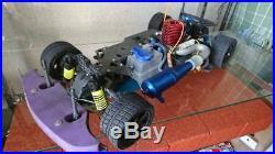 Vintage Rare RC Tamiya 1/8 engine car TGX Porsche 911 options Parts etc