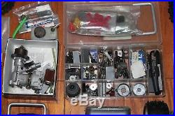 Vintage Rc Car Lot Parts Projects Kyosho Stinger MK 1 2 OS Max Engines Wheels