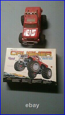 Vintage Royal Crusher RC Car With Box, Manual, Remote, and Charger