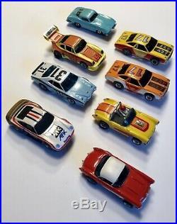 Vintage Slot Car Lot, 40 + Parts, AFX, Aurora, GPlus, Tyco, See Photos