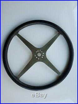 Vintage Sprint Car Midget Bell Auto Parts 15 Steering Wheel Rat Rod Scta Ratrod