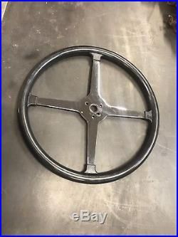 Vintage Style Bell Auto Parts 15inch Steering Wheel SCTA Gasser Race Car Hot rod