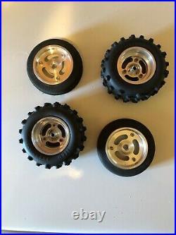 Vintage TEAM ASSOCIATED RC10 Aluminum Wheels, Losi RPS