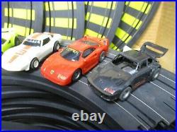 Vintage TYCO 4-Lane Racing Magnum 440-X2 Set #6693 with Slot Cars xTra PartsJBC