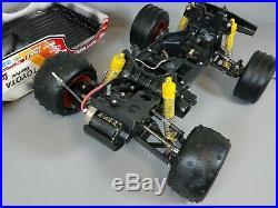 Vintage Tamiya 1/10 Toyota Hi-Lux Monster Racer, Roller, Servo, 58086