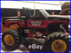Vintage Tamiya Blackfoot RC Truck