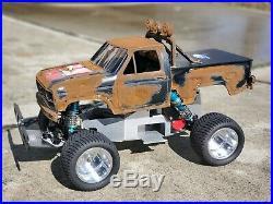 Vintage Tamiya Blackfoot Sassy Chassis, Trackmaster, JG, CRP, Trinity, T&A wheel