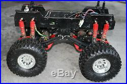 Vintage Tamiya Clod Buster With Aluminum Sassy Chassis & Imex Tires