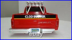 Vintage Tamiya ClodBuster Body ONLY Chevy Bowtie & Chevrolet Tailgate