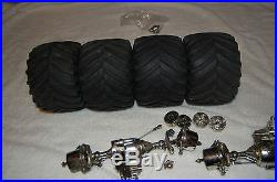 Vintage Tamiya Clodbuster 58065 RC Car CCP ESP Parts Lot Bullhead Juggernaut