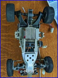 Vintage Tamiya Frog RC Car #5841 Acoms Controller, Tires, Parts in Original Box