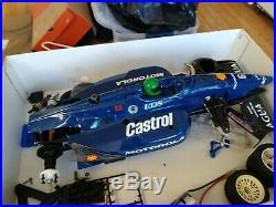 Vintage Tamiya NIB R/C Car Kit #58148 1994 F103L IndyCar & Parts car & Body
