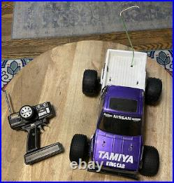 Vintage Tamiya Nissan King Cab Hilux Monster Racer