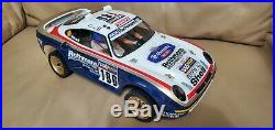 Vintage Tamiya Porsche 959 rc rally limited