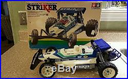 Vintage Tamiya Striker all original 1987 no reserve! Sonic fighter, futaba fx10