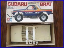 Vintage Tamiya Subaru Brat body parts set 58038 1983