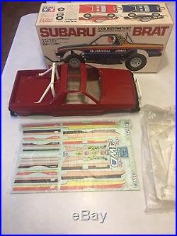 Vintage Tamiya Subaru Brat body set FROG 1983 buggy Radio control NIB