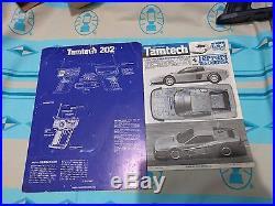 Vintage Tamiya tamtech 1/24 Ferrari Testarossa with R/c Tam tech gear Work
