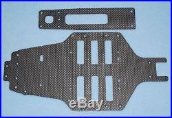 Vintage Tamiya top force evo manta ray ta01 carbon fiber double deck chassis set