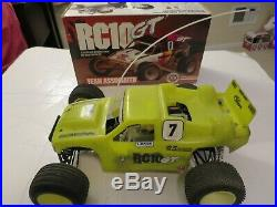 Vintage Team Associated RC10 GT R/C Car + Box & Extras For Parts or Repair