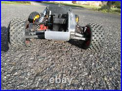 Vintage Team Losi Jrx-2 2wd Buggy Rc10 Roller complete chassis