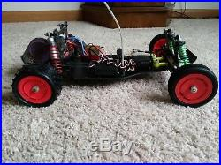 Vintage Team Losi jrx pro jrx2 buggy 1/10 Scale -rtr minus battery and charger