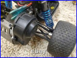 Vintage Team losi mini t/desert truck 1/18 and large parts lot, new brushless