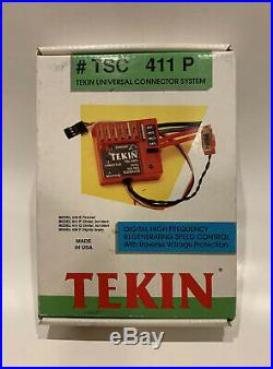 Vintage Tekin TSC 411 P ESC RC10 Associated Losi jrx jrxt Yokomo Speed Control