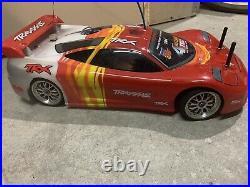 Vintage Traxxas 4tec nitro awd 4x4 super fast rc car (Original Condition) Rare