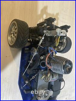 Vintage Traxxas Nitro 4-Tec. 15 Radio Control RC Car