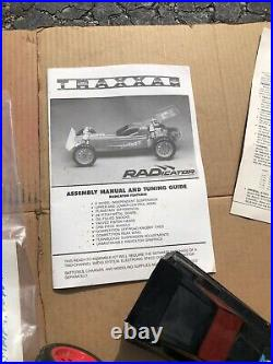 Vintage Traxxas Radicator 1/10 Buggy RC Car With Extras Parts Or Repair