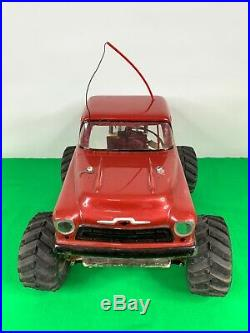 Vintage Traxxas Sledgehammer Electric RC Truck
