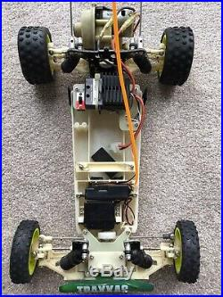 Vintage Traxxas radicator 2/Rad2 RC car With Spare Chassis/parts