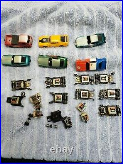 Vintage TycoPro Slot Car, Bodies, Chassis, Motors and Parts