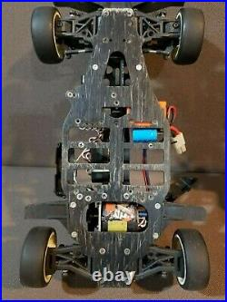Vintage Used HPI RS4 Sport Roller with CAMARO PRE-PAINTED RC BODY 1/10TH SCALE