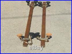 Vintage Wooden Car Roof Luggage Racks Parts Restore Rat Rod VW Bus Bug 54 X 2+