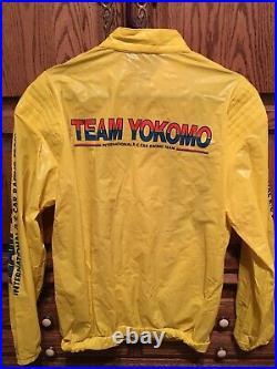 Vintage Yokomo Team Jacket Team Associated Rc10 Yz10 Masami Large Very Good Con