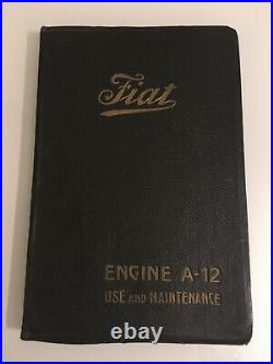 Vintage aircraft aero engine FIAT A-12 RNAS WWI 1916 barn find parts engined car