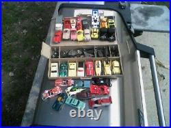 Vintage aurora afx faller slot cars lot n case parts