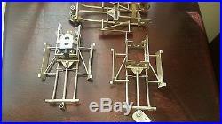 Vintage cox dan gurney slot car chassis parts lot rare